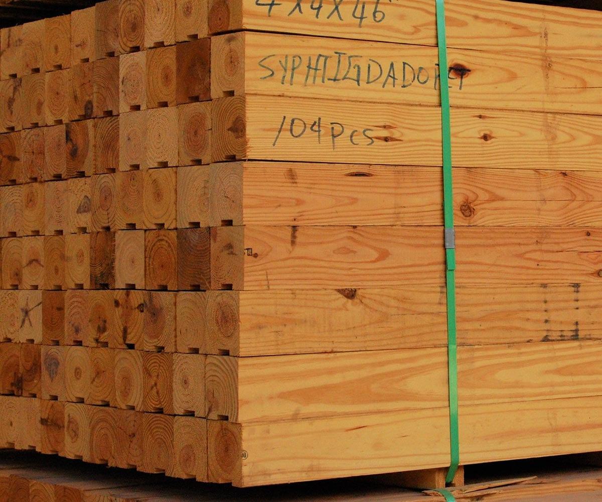 4x4 46in Pine Battens