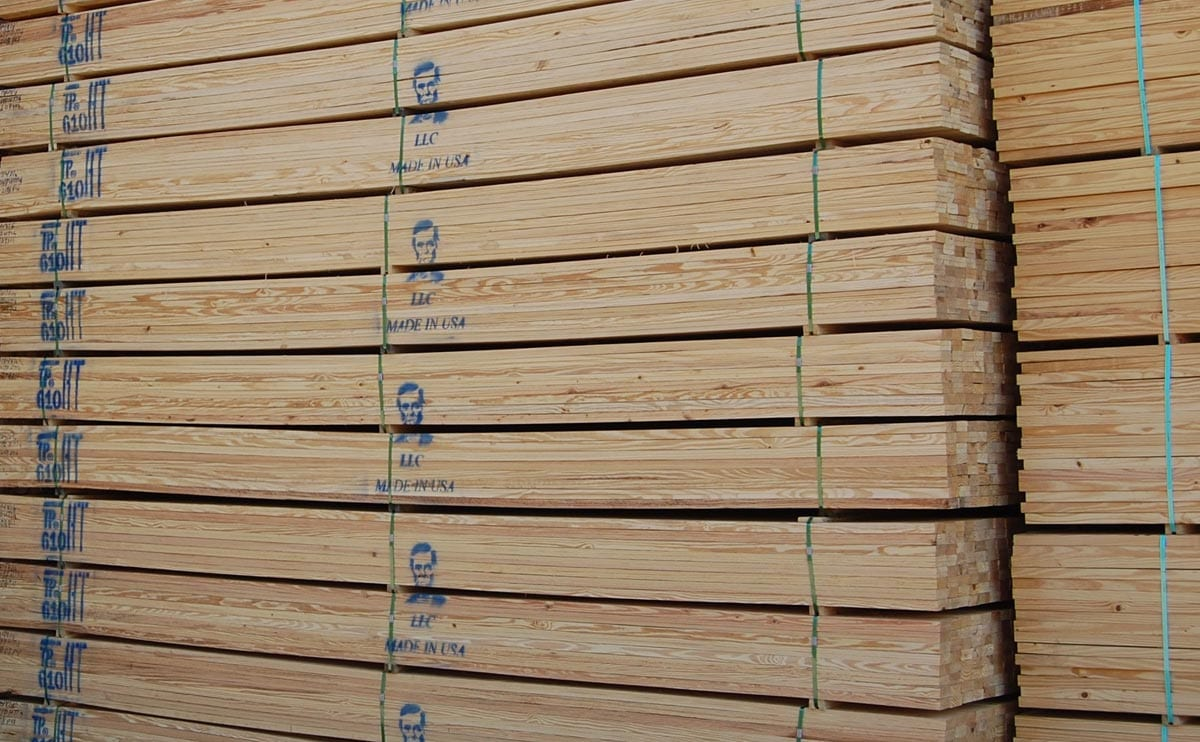 Industrial Grade Dimension Lumber Lincoln Companies